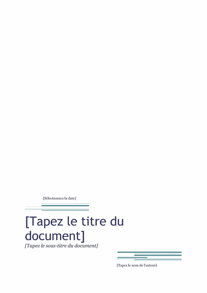 stage Exemple Rapport De Stage
