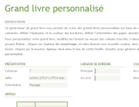 Generateur De Grand Livre De Comptes